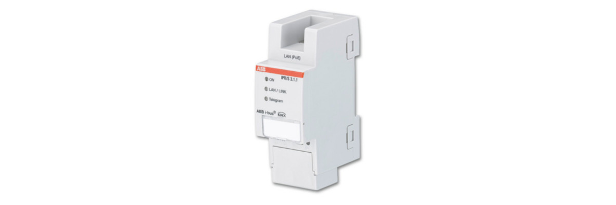 The ABB IPR/S 3.1.1 using the KNXnet/IP Tunnelling connection