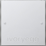 KNX touch sensor 3 Basic 1-gang Gira F100 pure white
