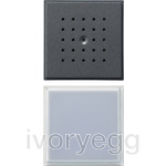 Door Loudspeaker and Call Button TX44 Anthracite