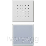 Door Loudspeaker and Call Button TX44 Pure White