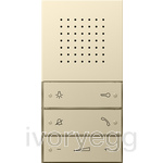 F100 Hands-free feature home station, cream white
