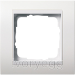 Cover frame, 1-gang for pure white Gira Event pure white