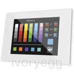 Z41 Pro. Color capacitive touch panel with IP connection. PC-ABS frame - White