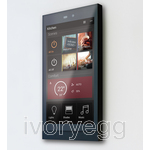 Ellie touch panel - brushed black