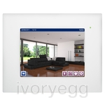 "HC2L-KNX 10,4"" TOUCH PANEL, WHITE FRONT FRAME"