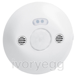DUAL TECHNOLOGY CEILING MOUNTED DETECTOR  PIR/US 8M 360° IP20 WH
