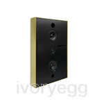 Aalto D3 Active network speaker 200W - brushed brass