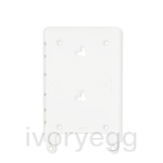 Eve frame for iPad mini 1, 2 & 3 - satin white