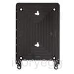 "Eve frame for iPad Air 1 & 2, and iPad 9.7"" - black"