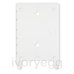 "Eve frame for iPad Air 1 & 2, and iPad 9.7"" - satin white"