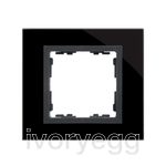 FRAME, 1 ELEMENT, NATURE BLACK GLASS