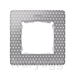 FRAME, 1 ELEM. POLKA DOTS, warm grey
