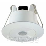 Motion Sensor 360 - White - Volt Free  10pcs