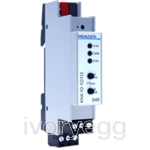KNX Dimming Actuator with 1 output 1..10 V, 1 switching output, logic and timer functions