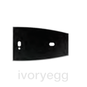 Black frame for the Outdoor NFC-Proximity Reader volo