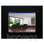 "HC2L-KNX 10,4"" TOUCH PANEL, BLACK FRONT FRAME"