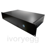 Rack server with unlimited clients, IR Trans, Report till 20MB, Light Web Page, A/V Bundle