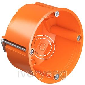 Stud Partition Wall Backbox - 49mm Deep- bag of 25 boxes